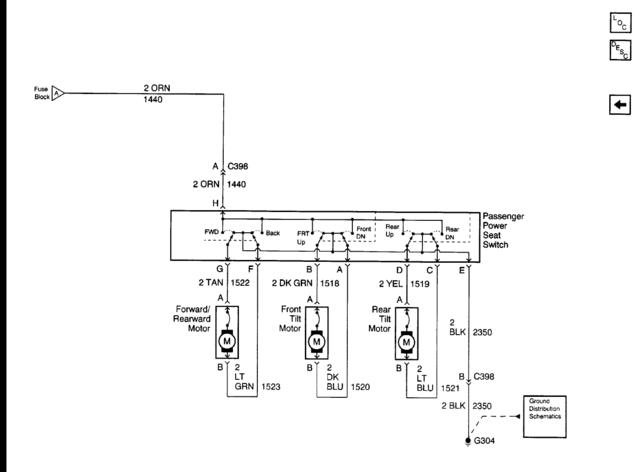 Wiring       diagram    for    power       seats    and heaters  The 1947