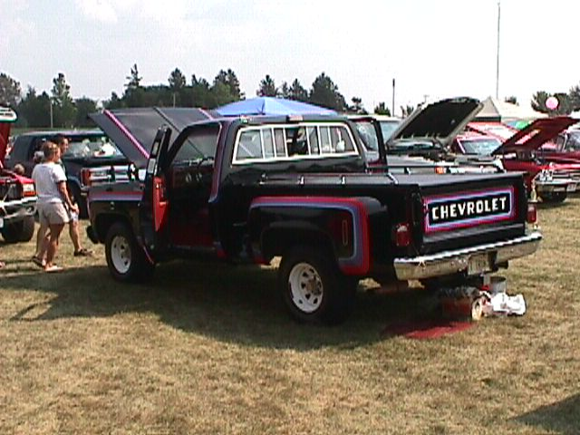 Decal Replacement 77 Chevy Sport The 1947 Present