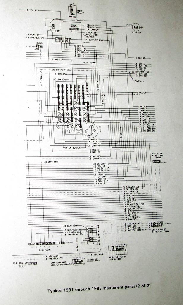 Instrument    Cluster    Wiring       Diagram     The 1947  Present