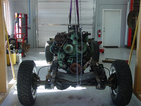Name:  Engine in Frame - small.jpg Views: 4031 Size:  73.0 KB