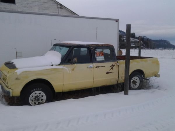 Gmc Red Deer >> 1967 4x4 crew cab on craigslist - The 1947 - Present Chevrolet & GMC Truck Message Board Network
