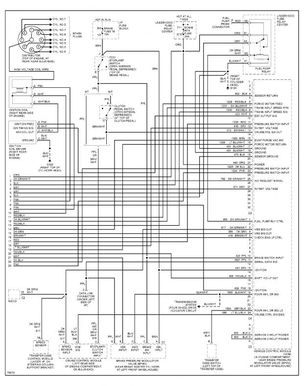 Here are the wiring diagrams related to engine performance