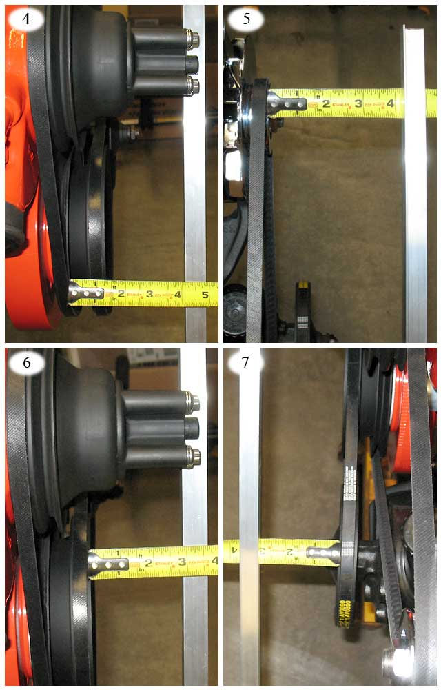 67 72 Chevy Truck Forum >> V Belt pulley alignment 101 - The 1947 - Present Chevrolet & GMC Truck Message Board Network
