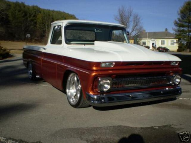 63 66 Two Tone Stepside Paint Jobs Pics The 1947