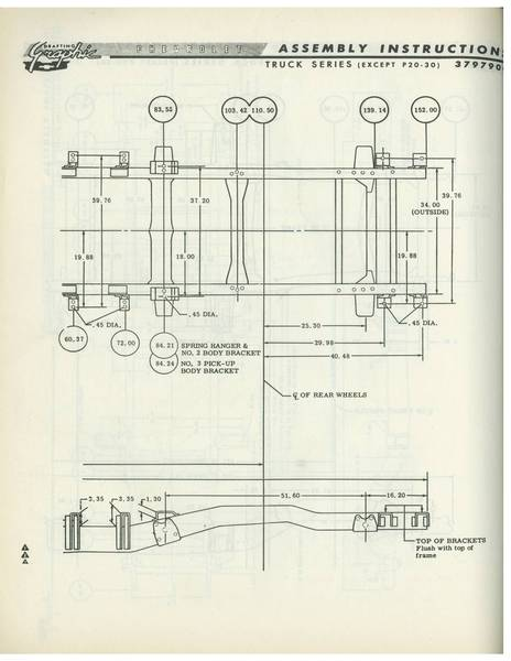 196066    Chevy   GMC    Truck    Frame    Diagram     The 1947  Present    Chevrolet      GMC    Truck    Message Board