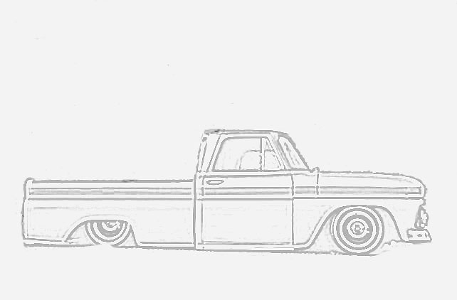 looking for line drawing of 64 66 the 1947 present chevrolet gmc truck message board network. Black Bedroom Furniture Sets. Home Design Ideas