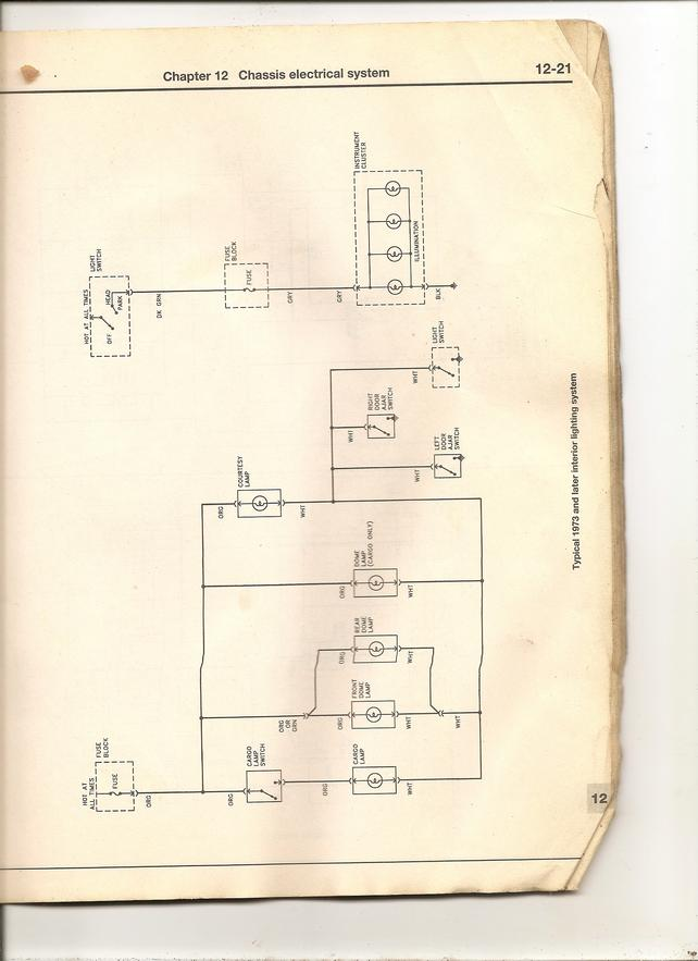 chevy cargo light wiring diagram wiring diagrams for dome light & cargo light - the 1947 ... #13