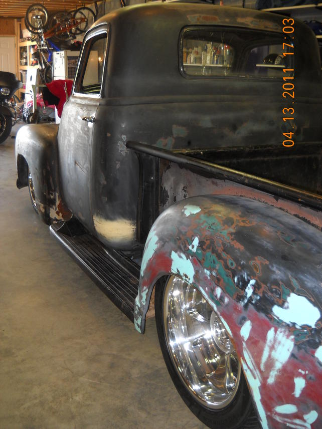 Rear End Advice On S 10 Frame Swap 50 Chevy The 1947