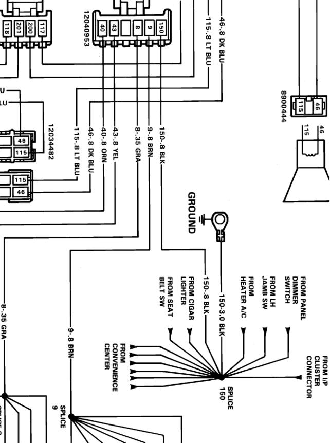 Needing 88 K2500 Stereo Wiring Diagram The 1947