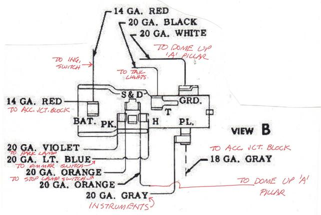 light switch wiring diagram on 59 the 1947 present. Black Bedroom Furniture Sets. Home Design Ideas