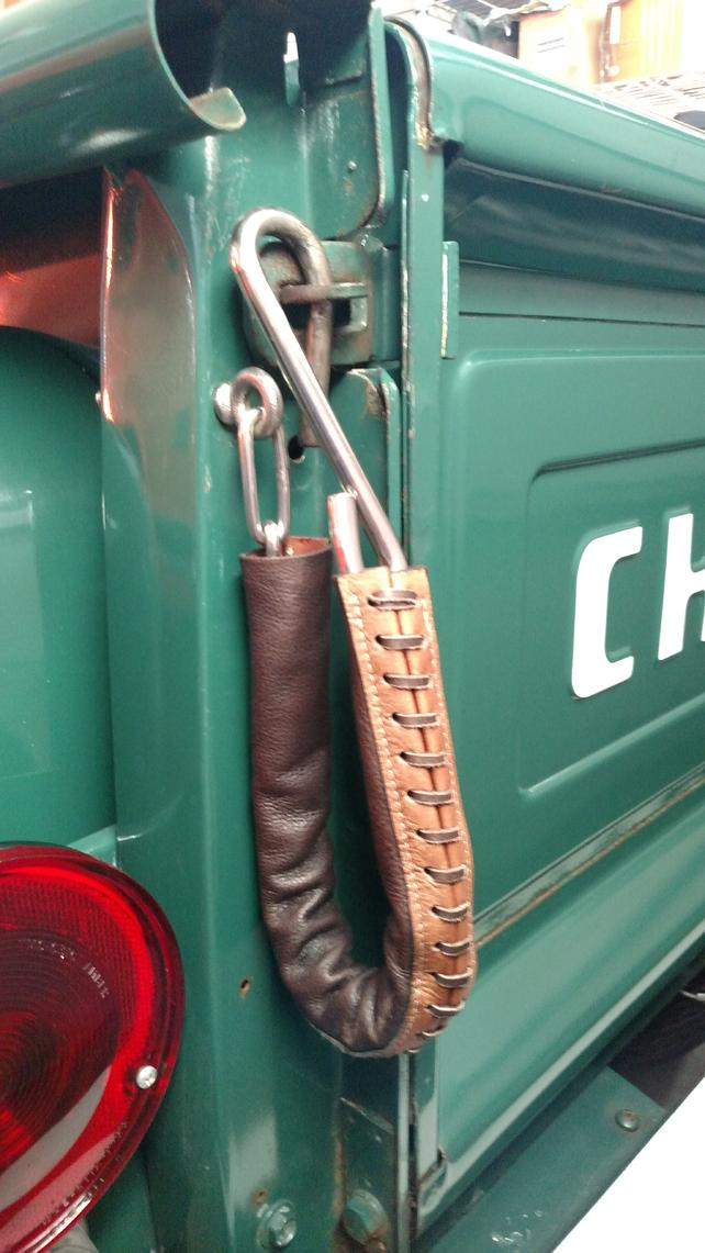 Leather Tailgate Chain Covers - The 1947 - Present ...
