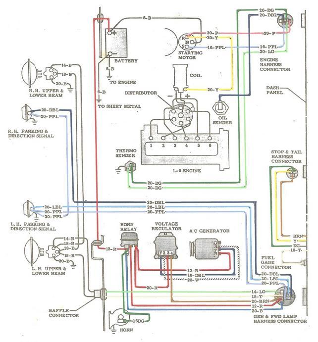 66 chevy c10 alternator wiring diagram 1972 chevy c10 alternator wiring '66 c10 alternator not charging battery - the 1947 ...