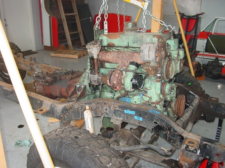 Name:  Engine mock up after front engine mount - small.jpg Views: 3885 Size:  88.7 KB