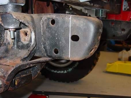 Name:  Chassis before mods for front bumper.jpg Views: 431 Size:  67.9 KB