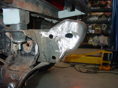 Name:  Chassis mods complete for front bumper.jpg Views: 435 Size:  69.8 KB