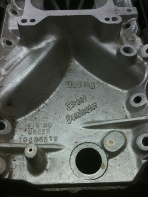 Holley Street Dominator Intake for BBC, OK - 47-Current
