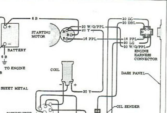wiring diagram ignition coil resistor