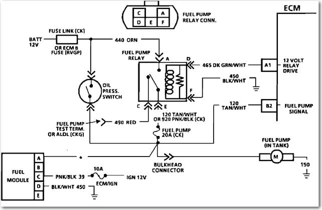 2008 Gmc Sierra Fuel Pump Wiring Diagram