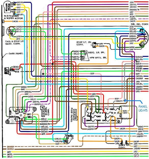 GM wiring puzzle in Mini Cooper - The 1947 - Present Chevrolet & GMC Truck  Message Board Network67-72 Chevy Trucks