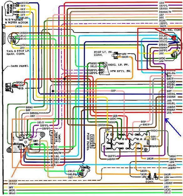67 Chevy Truck Wiring Diagram from 67-72chevytrucks.com