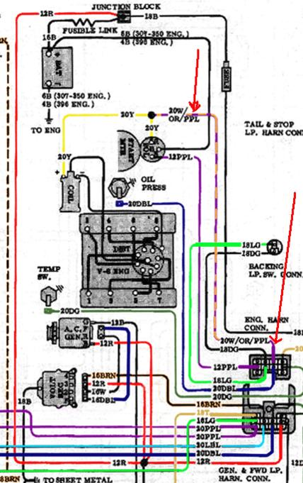 1972 starter wiring - the 1947 - present chevrolet & gmc truck message  board network  67-72 chevy trucks