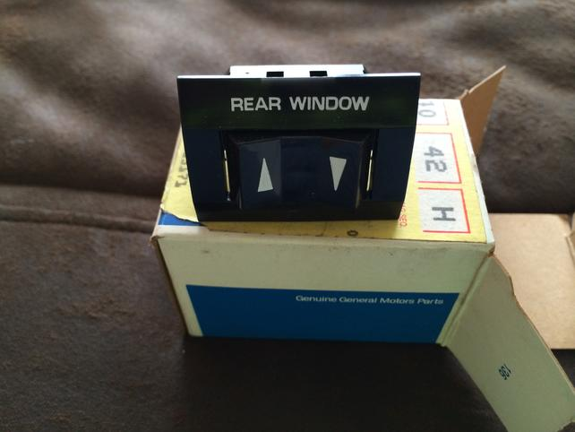 Rear Window Switch Part Number? - The 1947 - Present