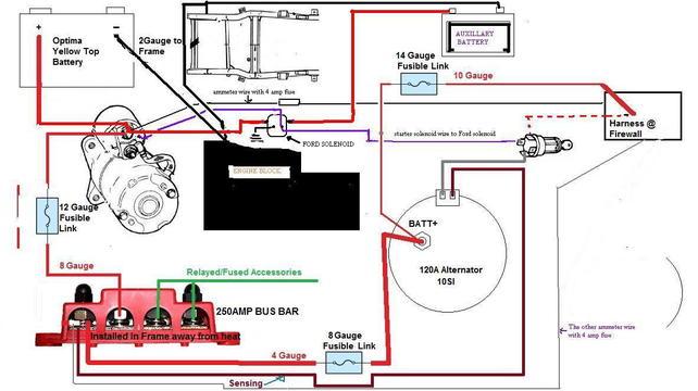 alternator wiring (internal) - the 1947 - present chevrolet & gmc truck  message board network  67-72 chevy trucks