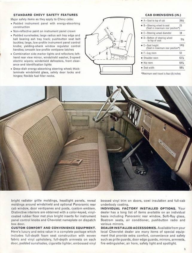 Superb Bench Seat Dimensions The 1947 Present Chevrolet Gmc Machost Co Dining Chair Design Ideas Machostcouk