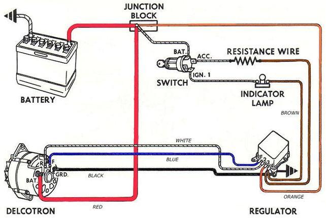 3.8 volts brown wire at alternator ??? - The 1947 - Present Chevrolet & GMC  Truck Message Board Network67-72 Chevy Trucks