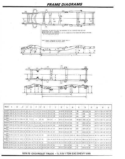 Frame Diagrams. - The 1947 - Present Chevrolet & GMC Truck Message Board  Network67-72 Chevy Trucks