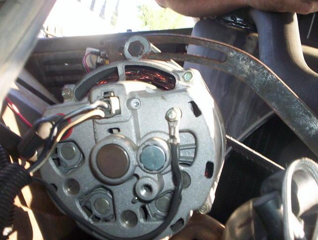 Alternator Wires Help The 1947, Chevrolet Alternator Wiring Diagram