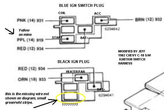 Wiring Diagram For Gm Ignition Switch : Chevy truck ignition wiring diagram auto