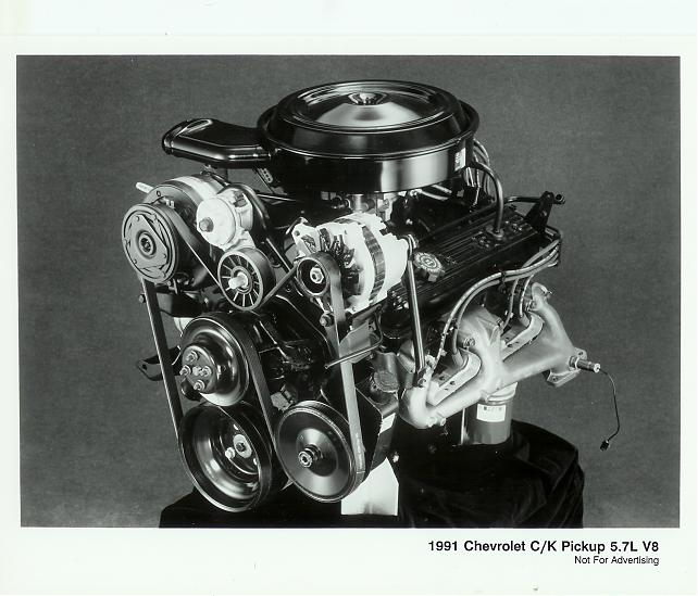 1988 89 90 91 92 93 94 GM CHEVY TRUCK IRON A//C COMPRESSOR BRACKET 350 TBI 305 V8
