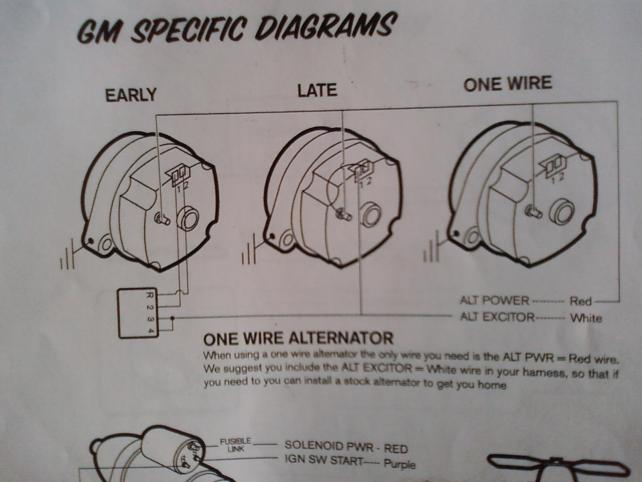 Chevy Alternator Wiring Diagram The H A M B Readingrat Net