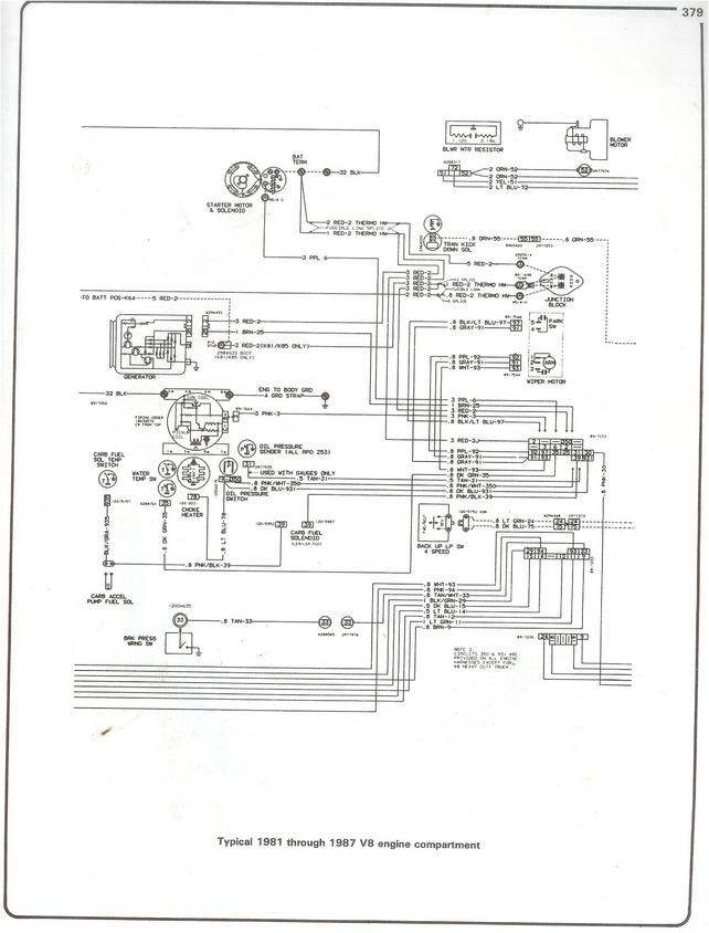 wiring diagrams for 1985 wiper motor - The 1947 - Present Chevrolet & GMC  Truck Message Board Network67-72 Chevy Trucks