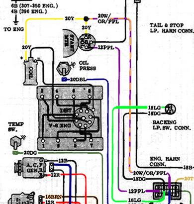 64 chevy c20 wiring diagram  | 390 x 410