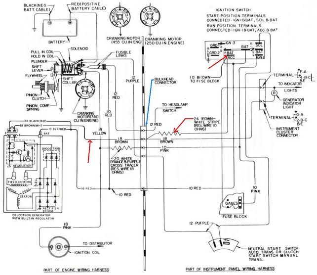 1980 toyota alternator wiring diagram  wiring two black
