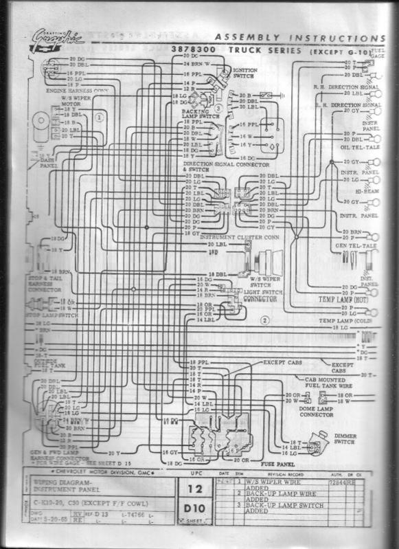 1966 Chevy Truck Ignition Switch Wiring Diagram from 67-72chevytrucks.com