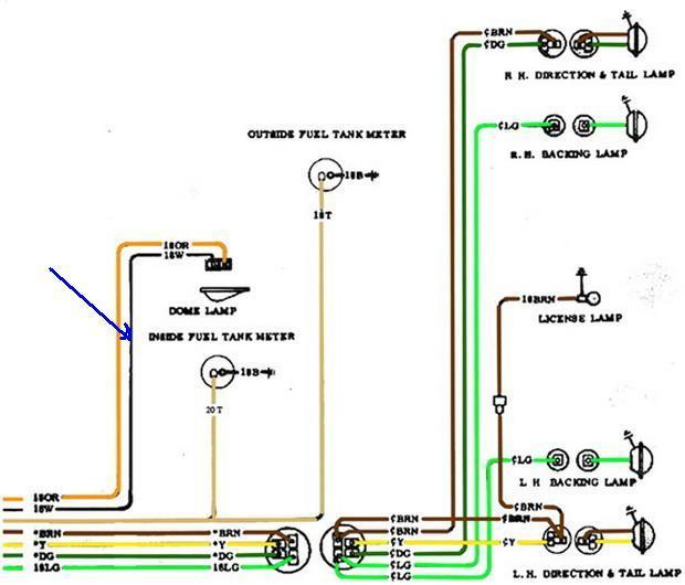 Tail Light Wiring Diagram from 67-72chevytrucks.com