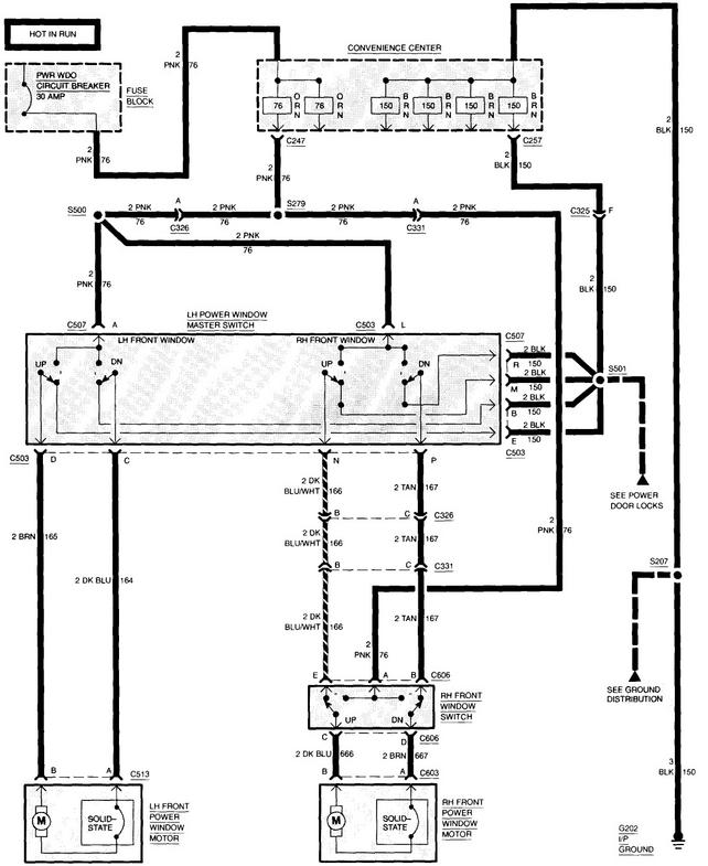 94 Chevy Suburban Power Window Wiring Diagram Convenience Center from 67-72chevytrucks.com