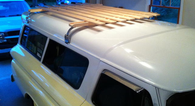 Wooden Diy Wood Roof Rack PDF Plans