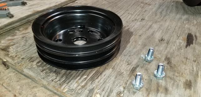Name:  Three groove crank pulley.jpg Views: 1889 Size:  37.7 KB