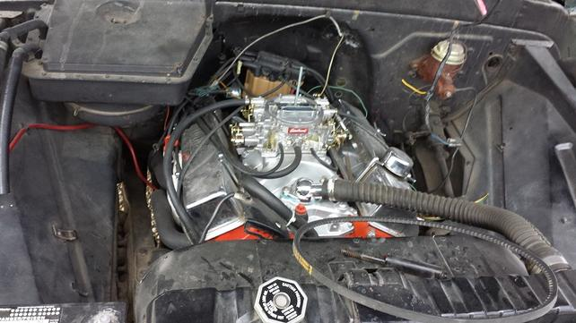 Name:  HEI, Carb, and Wires before tear down.jpg Views: 805 Size:  45.0 KB