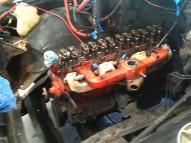 Name:  Six cylinder coming out.jpg